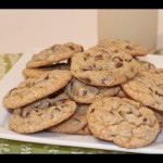 Super Easy Mocha Iced Chocolate Chip Cookies recipe