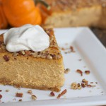 Sweet Pumpkin Cheesecake recipe
