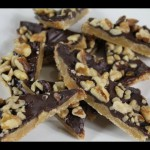 Swirlicious Chocolate-Peanut Toffee recipe