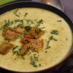 Three Cheese Cream of Broccoli Soup recipe