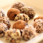 Toasted Almond Truffles recipe