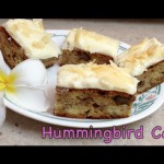Tropical Hummingbird Cake recipe