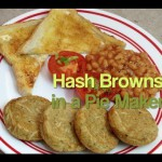 Turkey Hash Brown Pie recipe