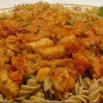 Turkey Rotini Casserole recipe