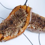 Twice Baked Yams recipe