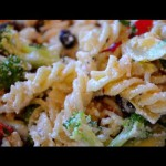 Two Cheese Turkey Pasta Salad recipe