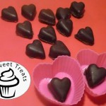 Valentine Chocolate Filled Hearts recipe