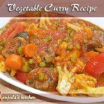 Vegetable Chicken Curry recipe