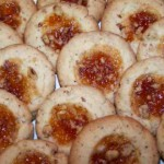 Walnut Thumbprint Cookies recipe