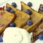 White Chocolate Cinnamon French Toast recipe