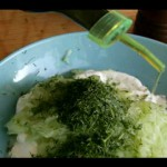 Yogurt and Cucumber Dip recipe