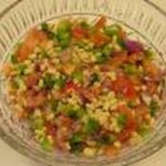 Zesty Sweet Potato Corn Salsa recipe